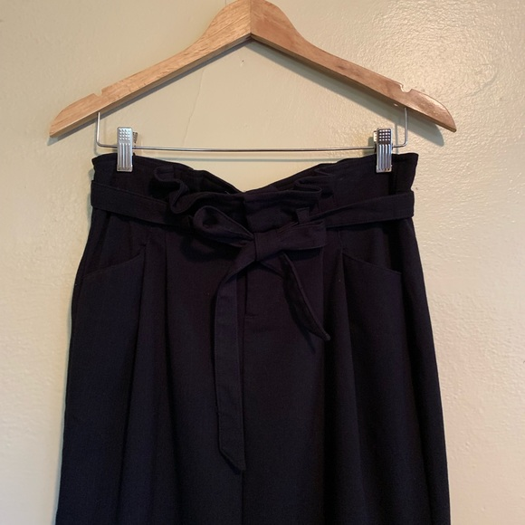 Old Navy Dresses & Skirts - Old Navy | Black Wool Blend Maxi Skirt | 6
